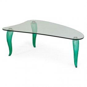 Style Of Fontana Arte Coffee Table