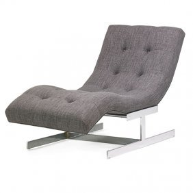 Milo Baughman (attr.); Thayer Coggin Lounge Chair