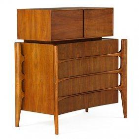Edmund Spence Curved Dresser