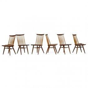 George Nakashima Six New Chairs