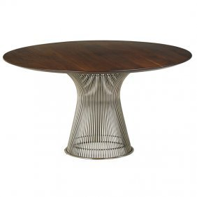 Warren Platner; Knoll Assoc. Dining Table