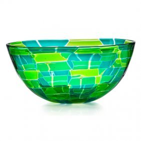 Ercole Barovier Parabolici Glass Bowl