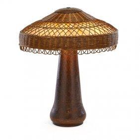 Gustav Stickley Table Lamp