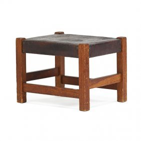 Gustav Stickley Footstool