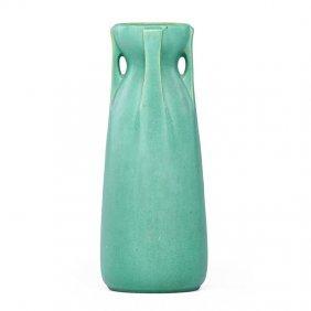 Teco Buttressed Vase