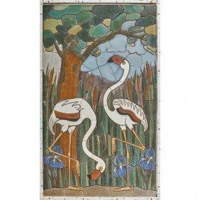Mueller Mosaic Co. Rare Massive Panel