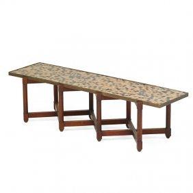 Edward Wormley; Dunbar Mosaic Table