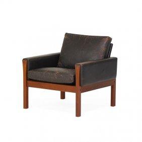Hans Wegner; A.p. Stolen Lounge Chair (ap 62)