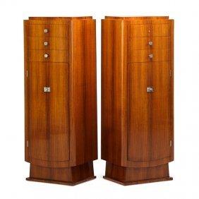 Jules Leleu Pair Of Cabinets