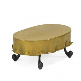 Jordan Mozer Cheshire Leg Coffee Table With Skirt