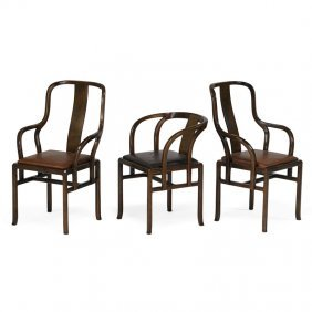 Pierre Paulin Three Armchairs