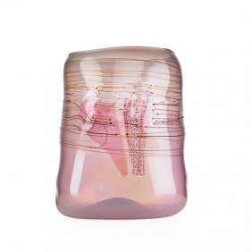 Dale Chihuly Large Soft Cylinder