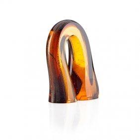 Harvey Littleton Small Glass Sculpture