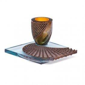 Michael Glancy Glass Sculpture