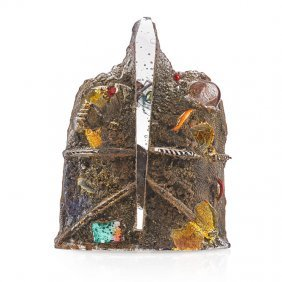 Bertil Vallien Cast Glass Sculpture
