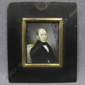 ENGLISH SCHOOL (19TH CENTURY) PORTRAIT MINIATURE