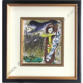 MARC CHAGALL (RUSSIAN/FRENCH 1887-1985), LITHO