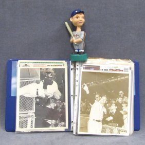 LOT ASSORTED SPORTS INCLUDING AUTOGRAPHED BASEBALL