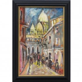 FILIPPO DE PISIS (ITALIAN 1896-1956), OIL ON PANEL