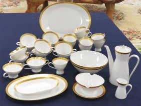 Large Lot Rosenthal (germany) Fine China Service With