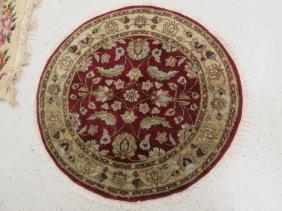 """Central Persian Rug. Diameter 48"""""""