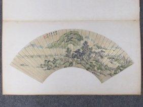 Ching Ming Wang (chinese 17/18th Century) Watercolor &
