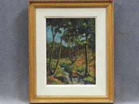 Samuel John Peploe (scotland/france 1871-1935), Oil On