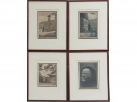 "Lot (4) Donald Mennie Photogravure Plates From ""the"