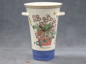 "Wedgwood Queensware, ""sarah's Garden"" Decorated"