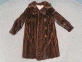 Male Mink 3/4 Length Coat