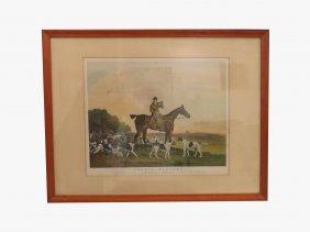 Richard Woodman (british 1784-1859), Colored Engraving,