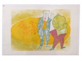 William Gropper (american 1897-1977), Colored