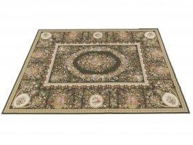 "Needlepoint Aubusson Style Carpet. 8'8"" X 11'11"""