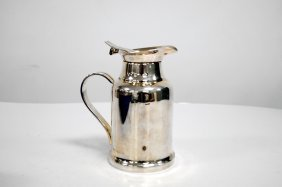 Christofle Silver Plate Carafe. Height 7""