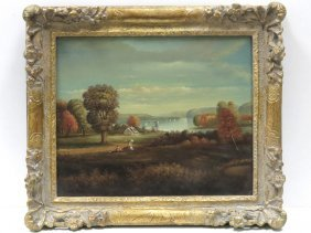 After Thomas Doughty (american 1793-1856), Oil On