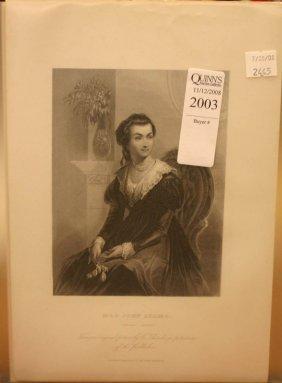20 Engravings [1856]: Martha Washington's Friends
