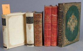 6 Vols: Byron, Tennyson, Ruskin, John Churchill.