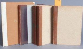 3 Books (5 Vols): Bibliophile Society.