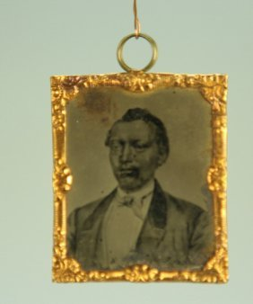 Very Rare William Tillman Tintype By Abbott Of Ny