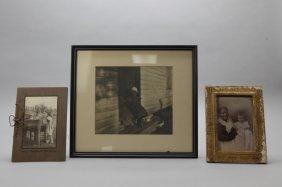 4 Items: 3 Photographs, Uncle Rodericks Philosophy