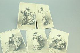 9 Black Us & French Cake Walk Photo Post Cards