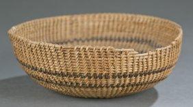 A Native American Washoe Basket.