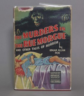The Murders In The Rue Morgue. Photoplay In Dj.