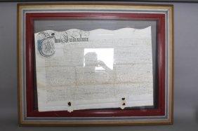 Land Deed. 100-pound Transaction. Mar. 7, 1698.