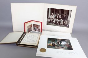 Over 52 Items: 13 Signed By Dwight Eisenhower