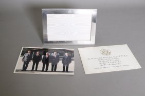 Photo: Tiffany Framed Presidents & Tiffany Clip