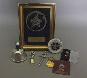 8 Items: Secret Service & White House Memorabilia