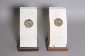 1960 Capitol Building Renovation Bookends