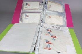 90 Patriotic Civil War Postal Covers: Flag Designs
