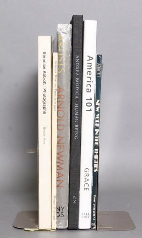 6 Signed Photography Books: Modica, Newman, Grace.